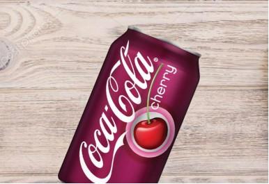 Кока кола вишня
